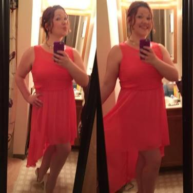prom selfie
